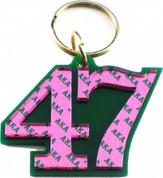 AKA Line Number Keychain