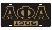 "APA ""1906"" Car Tag"