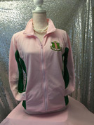 New Pretty in Pink Track Jacket