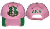 AKA Cap - Pink & Green