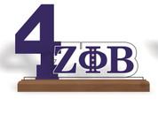 Acrylic Desktop Line Number Display - ZPB