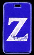 """""""Z"""" Luggage Tag- ZPB"""