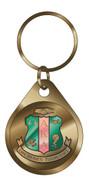 Domed Crest Keychain-AKA