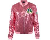 AKA Sequin Jacket (Pink) - NEW