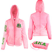 Lightweight Jacket w/carrying Bag - Pink
