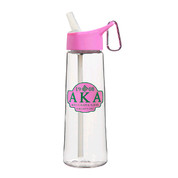 AKA Sorority Greek Water Bottle