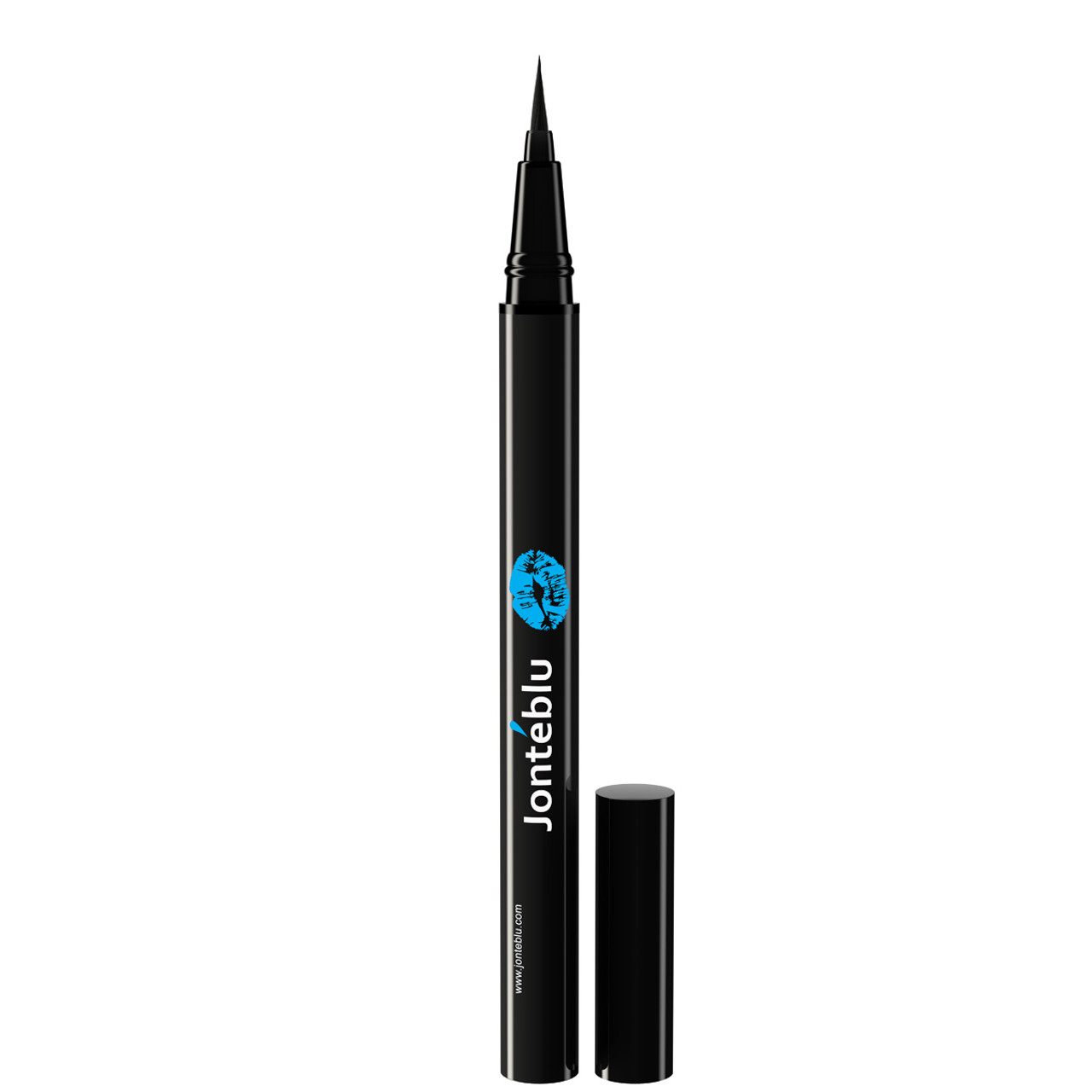 liquid eyeliner brush. jonteblu brush tip liquid eyeliner u