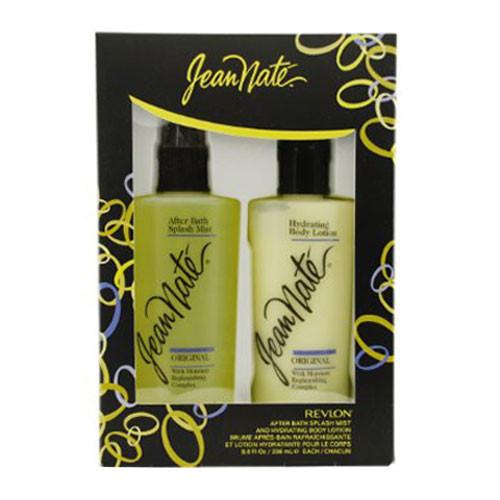 Revlon Jean Nate Lotion & After Bath Splash Set