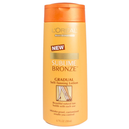 Loreal Sublime Bronze Gradual Self-Tanning Lotion, 6.7 Oz.