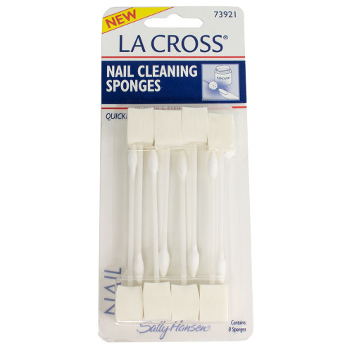 Sally Hansen La Cross Nail Cleaning Sponges 8ct 73921