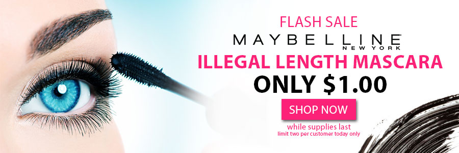 Maybelline mascara cyber monday sale for $1