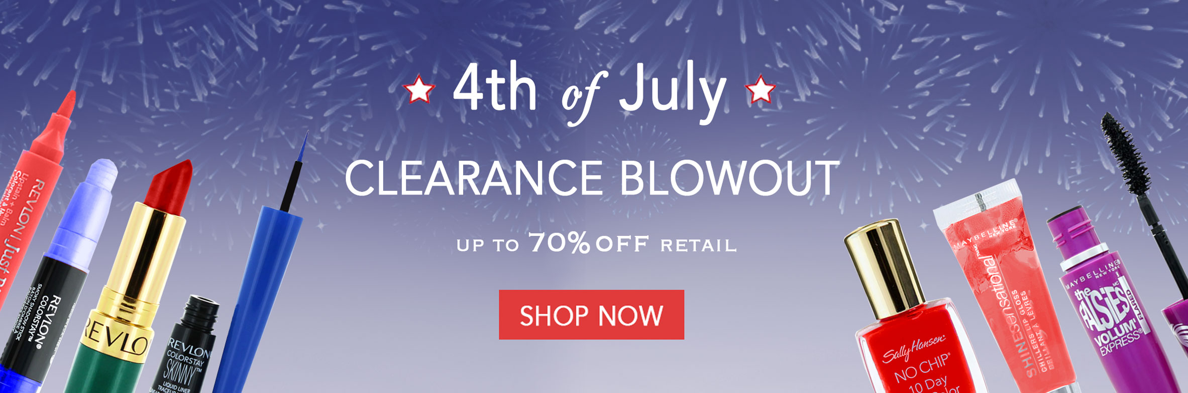 Shop our 4th of July Clearance Sale