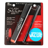 Maybelline Lash Stiletto & Unstoppable Eyeliner Value Pack