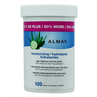 Almay Moisturizing Eye Makeup Remover Pads 120 ct.