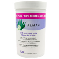 Almay Non-Oily Eye Makeup Remover Pads 100 ct.
