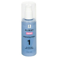 Almay Cleansing Lotion for Dry Skin with Cucumber, 4 oz.