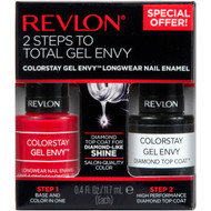 Revlon ColorStay Gel Envy Nail Enamel & Top Coat Value Pack