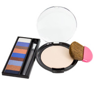 Physicians Formula Shimmer Strips Shadow Liner + CoverTox Ten Face Powder Set