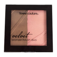 Femme Couture Velvet Bronze/Blush Duo