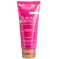 Loreal Sublime Bronze Summer Express Wash-Off Body Makeup Lotion 2.0 Fl Oz