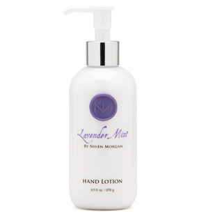 Light, refreshing and non-greasy, this hydrating hand lotion is specifically formulated for quick absorption. Organic aloe vera blended with extracts of arnica, shea butter and algae restore and nourish. Use regularly with Niven Morgan Hand Soap and Hand Cream.  Paraben free  9.5 oz. bottle