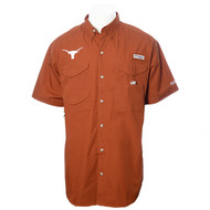 Texas Longhorn Men's Columbia Bonehead Shirt