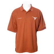 Texas Longhorn Men's Columbia Perfect Cast Polo