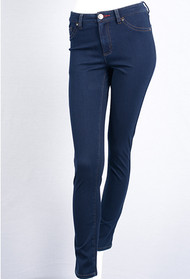 "The FDJ natural fit Mid Rise jean features two back pockets, faux front pockets and a heart shaped front button. 65% Cotton 35% Lycra  33"" Inseam  Style#4340214"