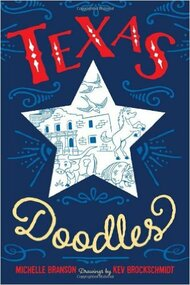 Texas Doodles-Drawing Book