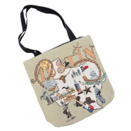 Austin Tapestry Canvas Tote