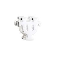 Sterling Silver UT Shape Bead (s80345)