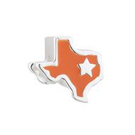 Sterling Silver Enamel Texas Bead