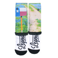 Locals Only Bluebonnet Mailbox Socks