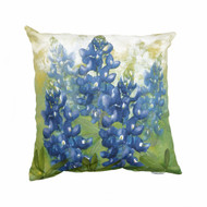 Bluebonnet Canvas Pillow