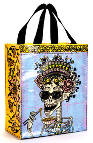 Blue Q Day of the Dead Handy Tote