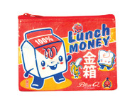 Blue Q Lunch Money Coin Purse