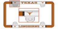 Texas Longhorn License Plate Frame