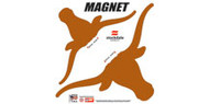 "Texas Longhorn 12"" Magnet (2 Pack)"