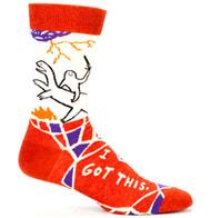 Blue Q I Got This Socks