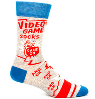Blue Q Video Game Socks