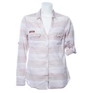 Texas Longhorn Columbia Sun Drifter Shirt (Stripe)