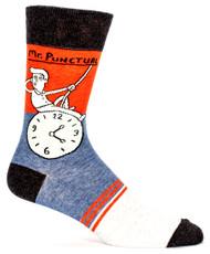 Blue Q Mr. Punctual Socks