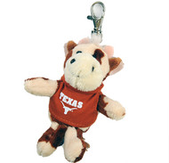 "Texas Longhorn ""Wild Bunch"" Cow Key Chain/Backpack Dangle"