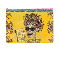 Blue Q Day of the Dead Jumbo Pouch