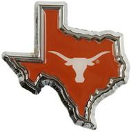 Texas Car Medallion (Orange)