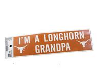 Longhorn Grandpa Sticker
