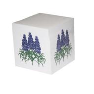 Bluebonnet Note Cube