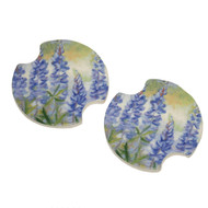 Bluebonnet Car Coaster Set