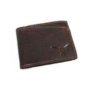 Texas Longhorn Sawtooth Canyon Wallet