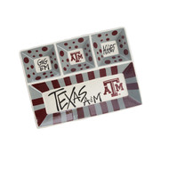 Texas A&M 4 Section Platter